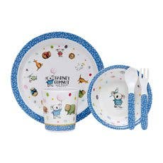 Ashdene Barney Gumnut & Friends Dinner Set 5pc