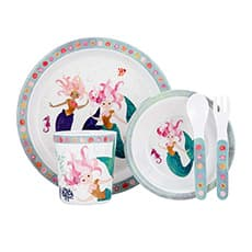 Ashdene Mermaids <b>Dinner</b> Set 5pc