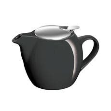Avanti Camelia Ceramic Teapot 500ml Pitch Black