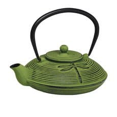 <b>Avanti</b> Dragonfly Cast Iron Teapot Green 770ml