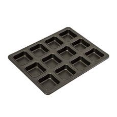 Bakemaster Non Stick 12 Cup Brownie Pan 34x26x2.5cm