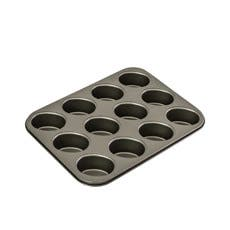Bakemaster Non Stick 12 Cup Friand Pan 26.5x35.5cm