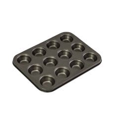 Bakemaster Non Stick 12 Cup Mini Muffin Pan 26x20x2cm
