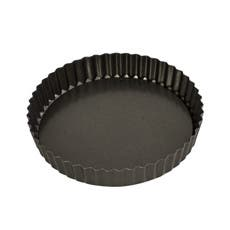 Bakemaster Non Stick Loose Base Round Quiche Pan 20x3.5cm