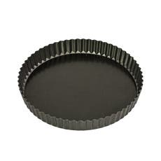 Bakemaster Non Stick Loose Base Round Quiche Pan 25x3.5cm