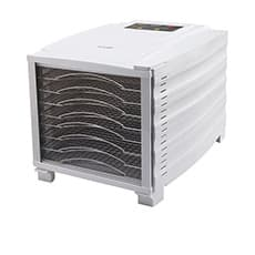BioChef Arizona 8 Tray Food Dehydrator <b>White</b>