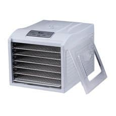 BioChef Arizona Sol 6 Tray Food Dehydrator <b>White</b>