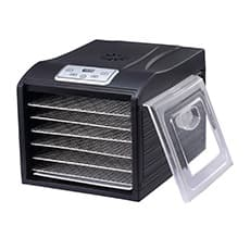 Arizona Sol 6 Tray Food Dehydrator Black