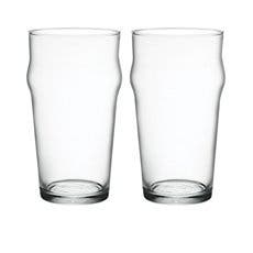 Bormioli Rocco Nonix Pint Glass 585ml Set of 2