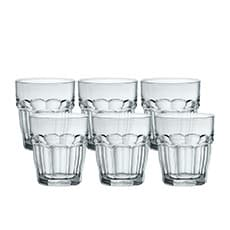 Bormioli Rocco Rock Bar 6pc DOF <b>Glass</b> Set 390ml
