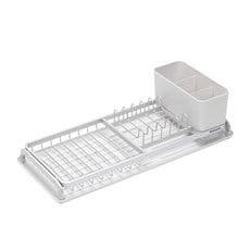 Brabantia Compact Dish Drying Rack Light Grey