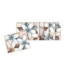 Ocean Frangipani Coasters Set of 6