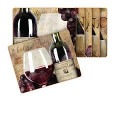 Old World Wine Placemats Set of 6