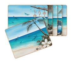 Paddle Bliss Placemats Set of 6