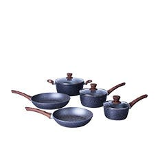 Clevinger 5pc Non-Stick Cookware Set