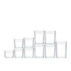 ClickClack Pantry Cube Container Set 10pc