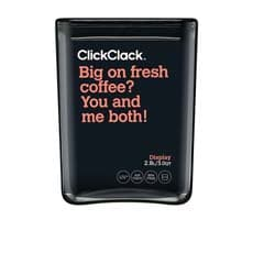 ClickClack Display Cube <b>Container</b> w/ Black Lid 2.8L