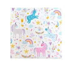 Coastal Classics Luncheon Napkin 20pk Unicorn Magic
