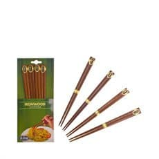 Ironwood Chopsticks Set of 4