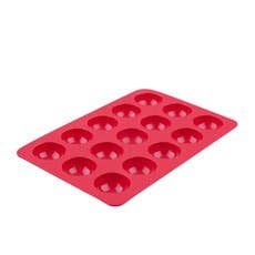 Daily Bake Small Dome Dessert Mould 15 Cup Red
