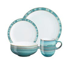 Denby Azure Coast Dinner Set 16pc