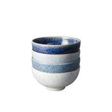 Denby Studio Blue Rice Bowl Set of 4