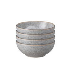 Denby Studio Grey Cereal Bowl 17cm Set of 4