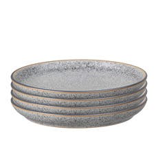 Denby Studio Grey Coupe Dinner Plate 26cm Set of 4