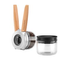 Dreamfarm Ortwo Grinder Mill with Extra Jar Beechwood
