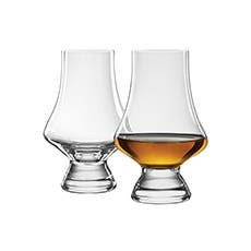 Final Touch Whiskey Tasting Glasses Set of 2