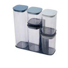 Joseph Joseph Editions Podium Storage Container Set 5pc Sky