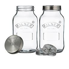 Kilner Fermentation Jar 1L Set of 2