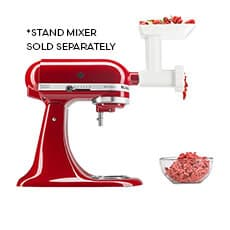 <b>KitchenAid</b> Food Grinder/Mincer Attachment