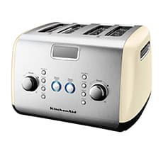 <b>KitchenAid</b> Artisan 4 Slice Toaster Almond Cream