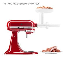 <b>KitchenAid</b> Food Grinder Sausage Stuffer Attachment