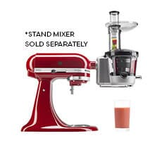 <b>KitchenAid Juicer and Sauce Attachment</b>