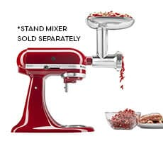 <b>KitchenAid</b> Metal Food Grinder Attachment