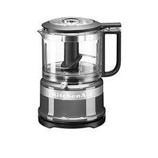 KitchenAid 3.5 Cup Mini Food Chopper Contour Silver