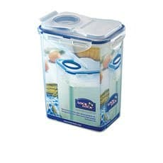 Lock & Lock Classic Rectangular Tall <b>Container</b> with Flip Pour Lid 1.8L