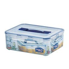Lock & Lock Classic Rectangular Tall <b>Container</b> with Handle 4.8L
