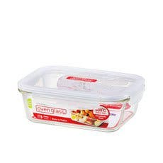 Lock & Lock Glass Rectangular Container 1L