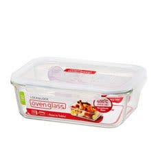 Lock & Lock Glass Rectangular Container 2L