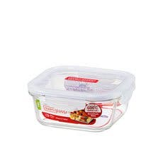 Lock & Lock Glass Square Container 750ml