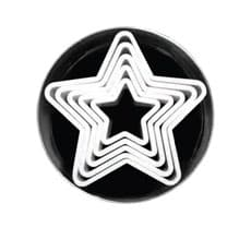 Loyal Star <b>Cookie</b> Cutters Set of 6