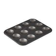 MasterPro Non-Stick 12 Cup Patty Pan 32x24x1cm