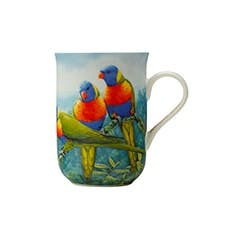 Maxwell & Williams Birds of Australia Katherine Castle Mug 300ml Lorikeet