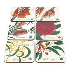 Botanic Coasters Assorted Set of 6