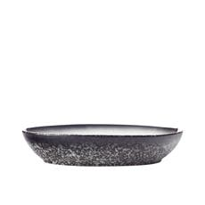 Maxwell & Williams Caviar Granite Oval Bowl 25x17cm