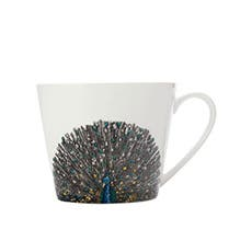 Maxwell & Williams Marini Ferlazzo Birds Mug 450ml Squat Peacock