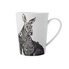 Maxwell & Williams Marini Ferlazzo Mug 450ml Red Kangaroo